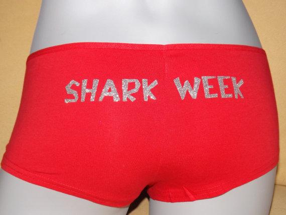 Shark Week Panties