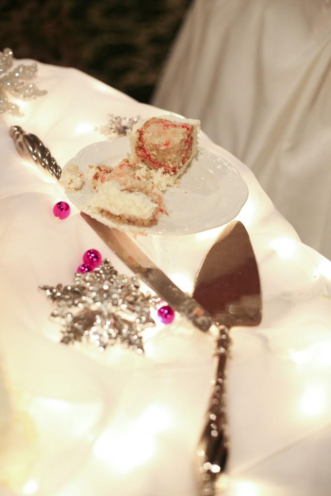 white chocolate raspberry swirl with white chocolate cream frosting