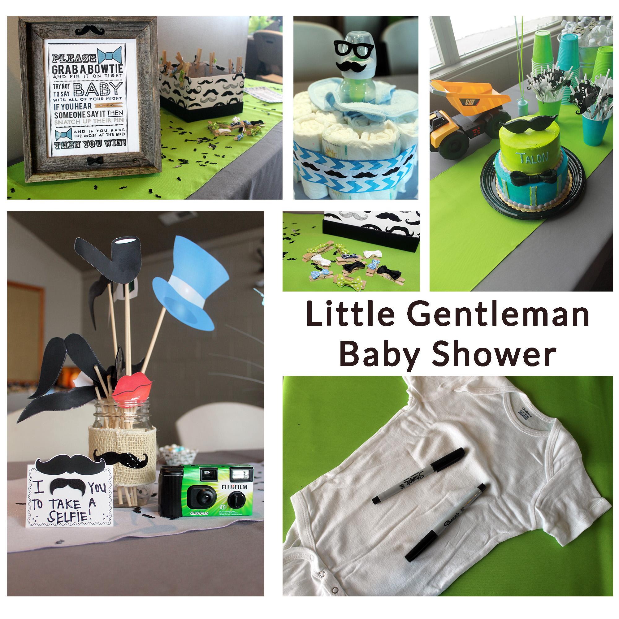 Marvelous Gentleman Baby Shower