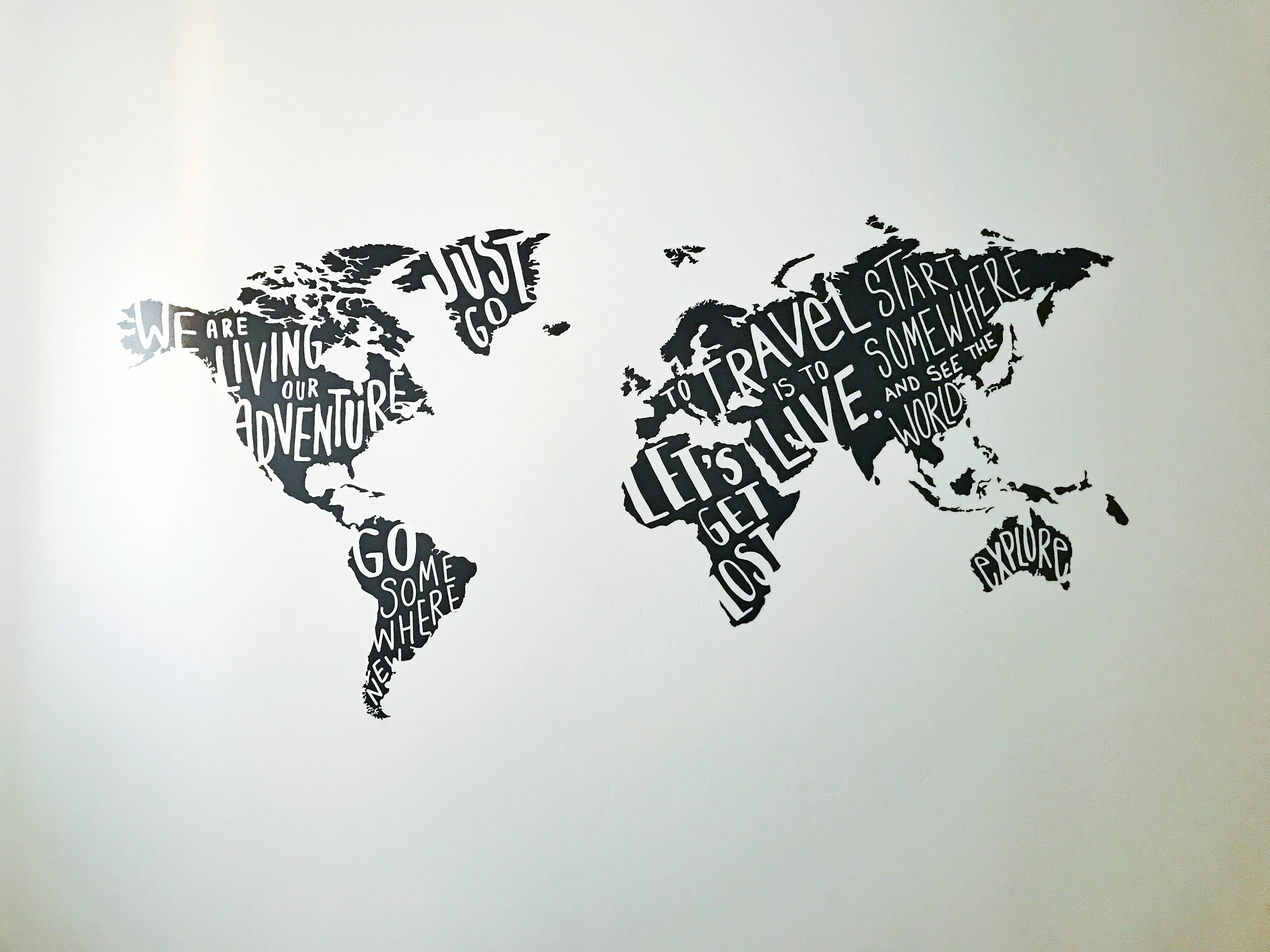 Travel the World Wall Decal by Paoer Riot from Target