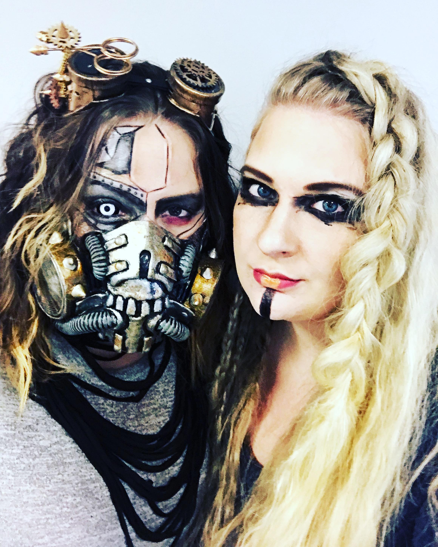 Lagertha Viking and Cyborg hair and makeup
